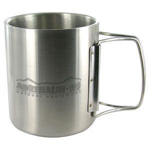 Кружка (термо) Adrenalin.ru  Metal Cup  220F